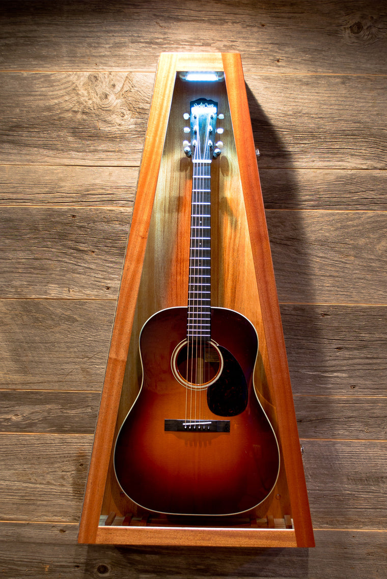 African Mahogany (Quarter Sawn) | Acoustic/Electric Guitar | Triangle