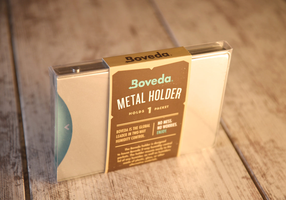 Boveda 1 Packet Holder | Aluminum