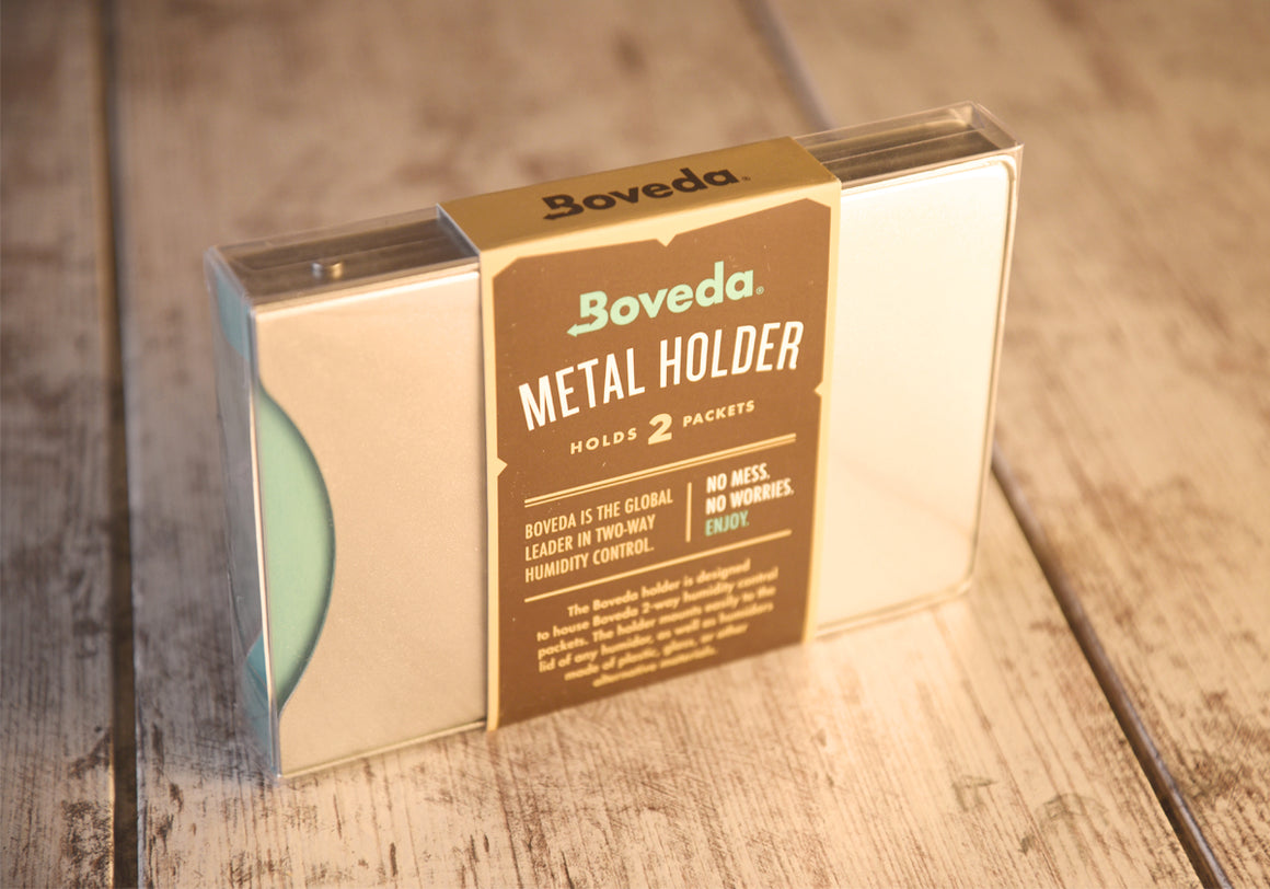 Boveda 2 Packet Holder | Aluminum