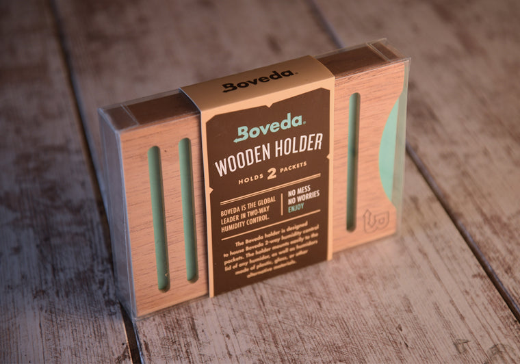 Boveda 2 Packet Holder | Cedar