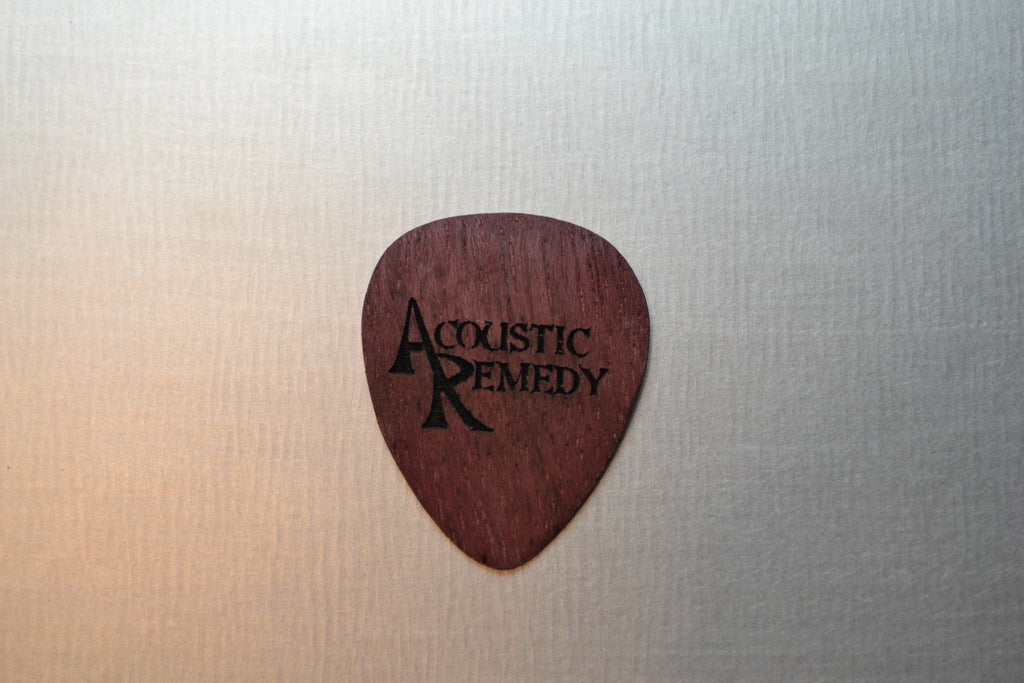 Purpleheart Guitar Pick