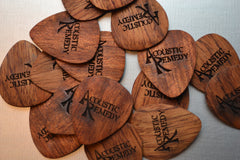 Tigerwood Guitar Pick
