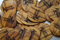Zebrawood Guitar Pick