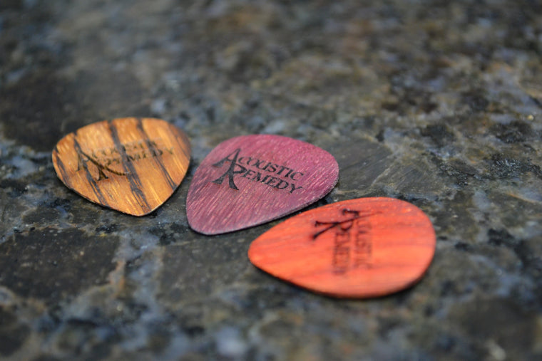 Guitar Picks | 3 Pack of Elite Woods