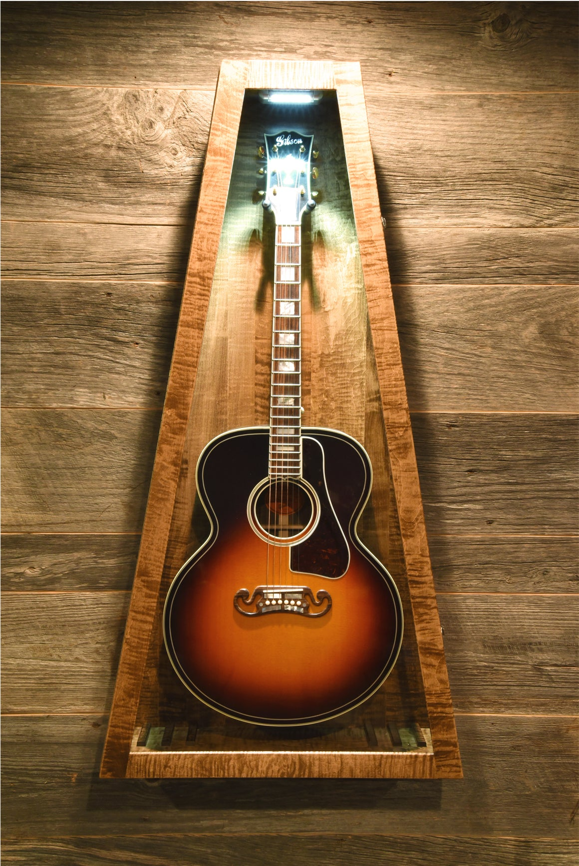 Provincial Stained Flamed Maple | Wall Model