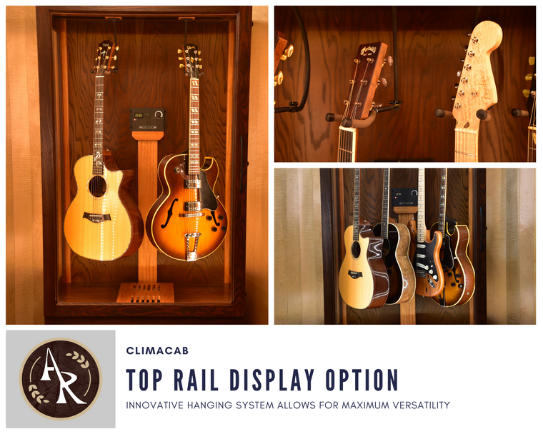 ClimaCab | Top Rail Display Option