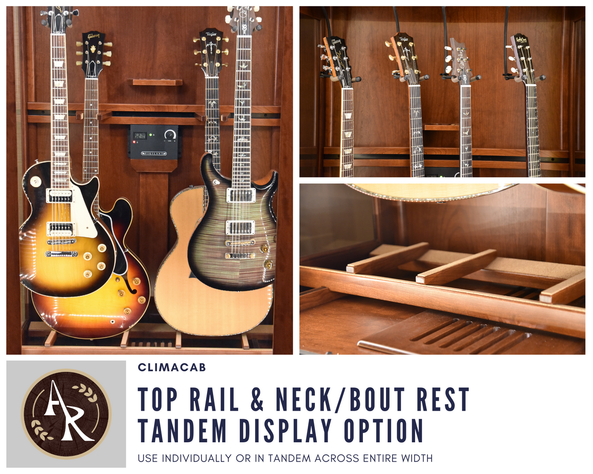 ClimaCab | Top Rail & Neck/Bout Rest Tandem Display Option