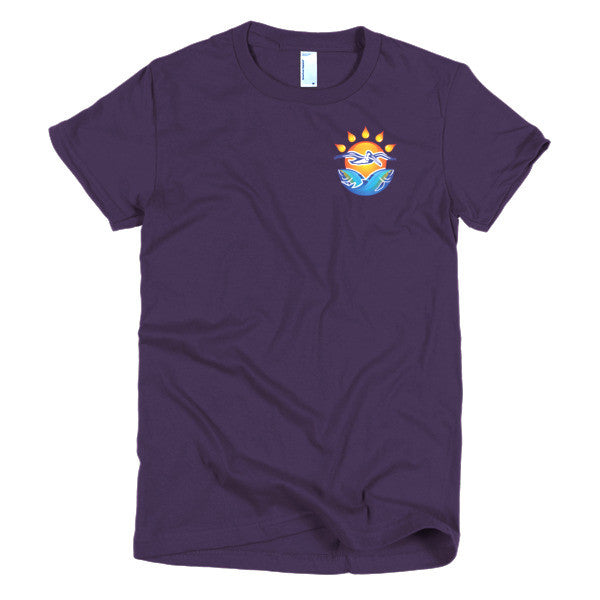 Short sleeve women's t-shirt - Pelican Seafood Company
