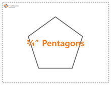 Load image into Gallery viewer, Pentagon Paper Packets