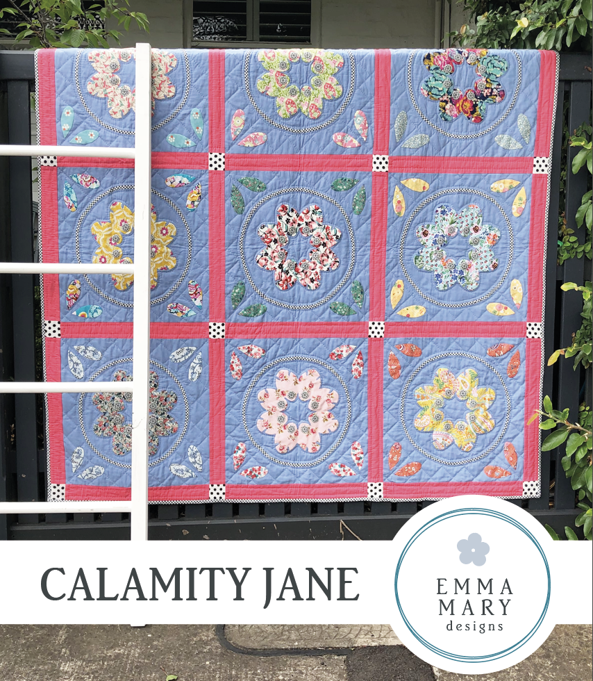 Emma Mary - Calamity Jane Pattern
