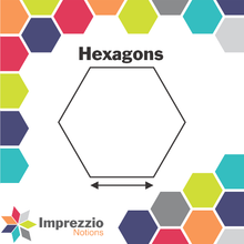 Load image into Gallery viewer, Hexagon Paper Packets