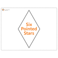 Load image into Gallery viewer, Six Pointed Star Paper Packets
