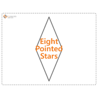 Load image into Gallery viewer, Eight Pointed Star Paper Packets