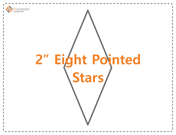 Eight Pointed Star Paper Packets