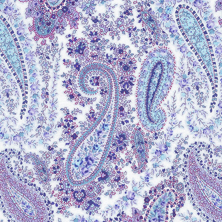 Lecien - Purple and White Paisley