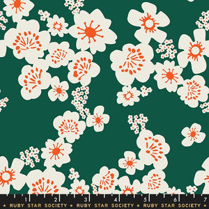 Ruby Star Society - Aviary - Green Floral