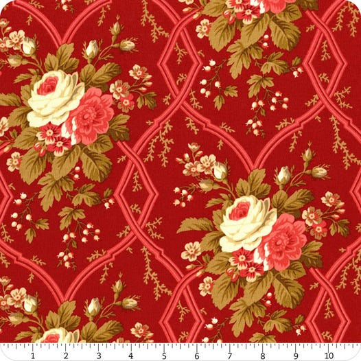 Agatha's Garden - Large Red Floral