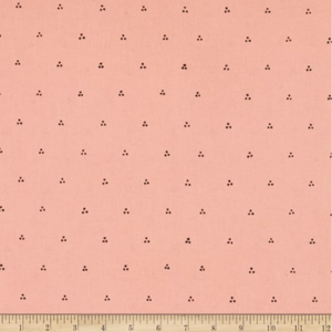 Bungalow - Pink and Brown Dot