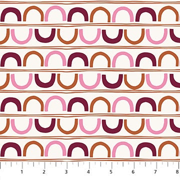 A Life In Pattern - Crescents Beige