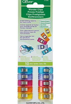 Clover Wonder Clips Pack of 10