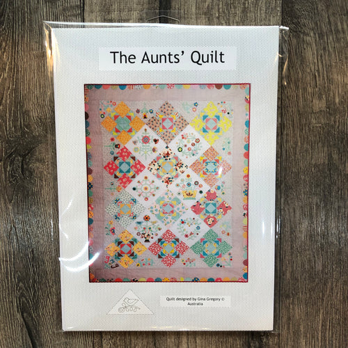 Gina Gregory The Aunt's Quilt