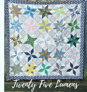 Sew Swish - Twenty Five Lumens Pattern and Template