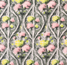 Load image into Gallery viewer, Pink Floral on Grey