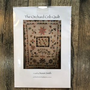 Susan Smith The Orchid Crib Quilt