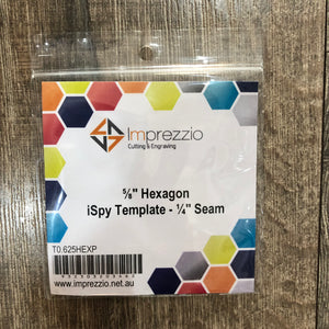 Hexagon i-Spy Templates