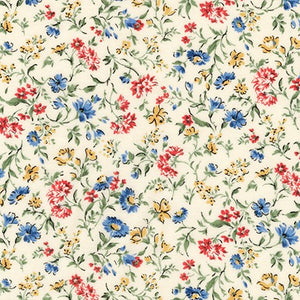 Sevenberry - Red and Blue Floral