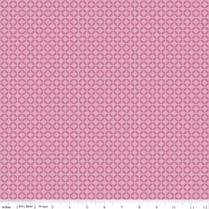 Riley Blake - Half Circle Geometric Pink
