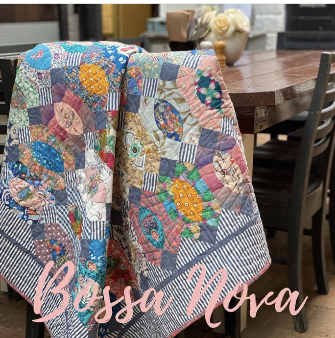 Bossa Nova Pattern and Template
