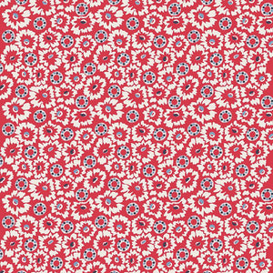 Betty's Pantry - Margie red Floral