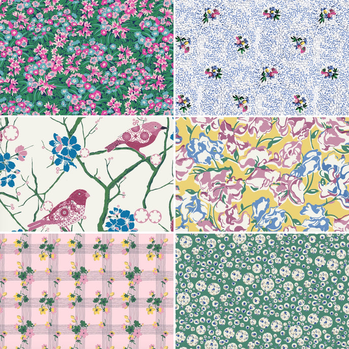 Queen of Fabric Bespoke Liberty Fat 1/4 Bundle