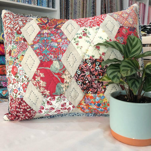 Love Liberty Cushion - Paper Pattern
