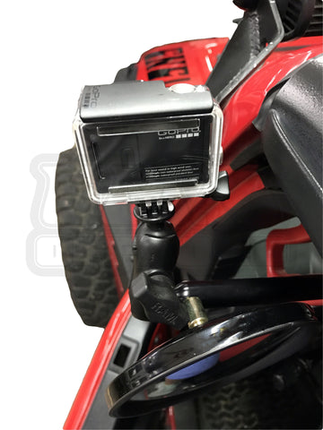 "CMM  Side Mirrors with 1"" Ball Mount"