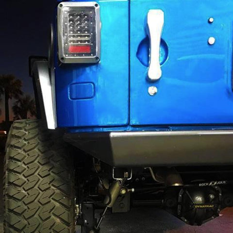 CMM Polished Aluminum Jeep JK Billet Paddle Door Handles