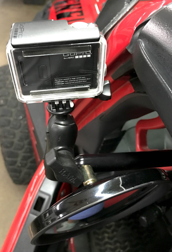 Cmm Offroad Side Mirrors With 1 Quot Ball Mount Carolina