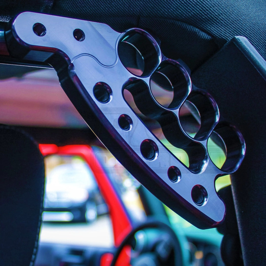 Black Anodize JK JKU Rear Knuckle Grab Handles