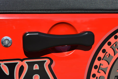 CMM Black Jeep JK Billet Paddle Door Handles