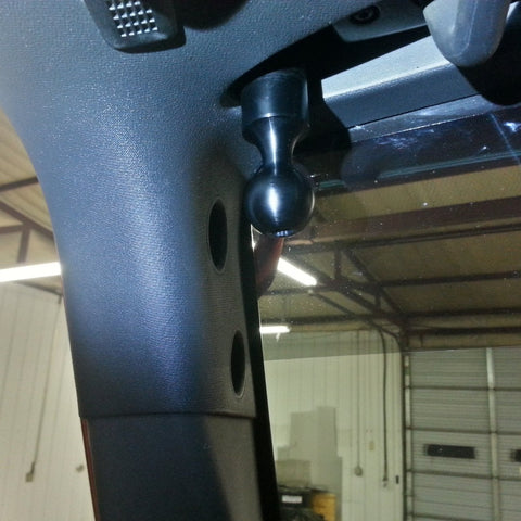 CMM Offroad JK RAM A-Pillar Ball Mount