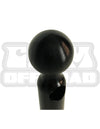 JL/JLU Side Mirrors with Base Ball Mount Solution