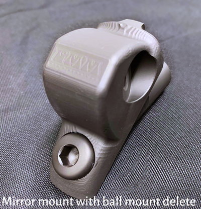 CMM JL/JT  Side Mirrors with Ball Mount Solution