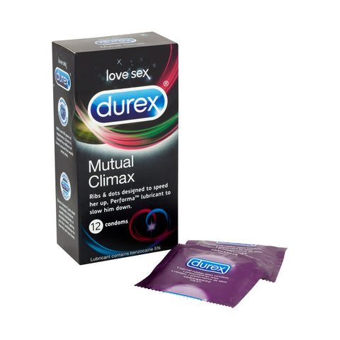 Durex Mutual Climax 12 Pack