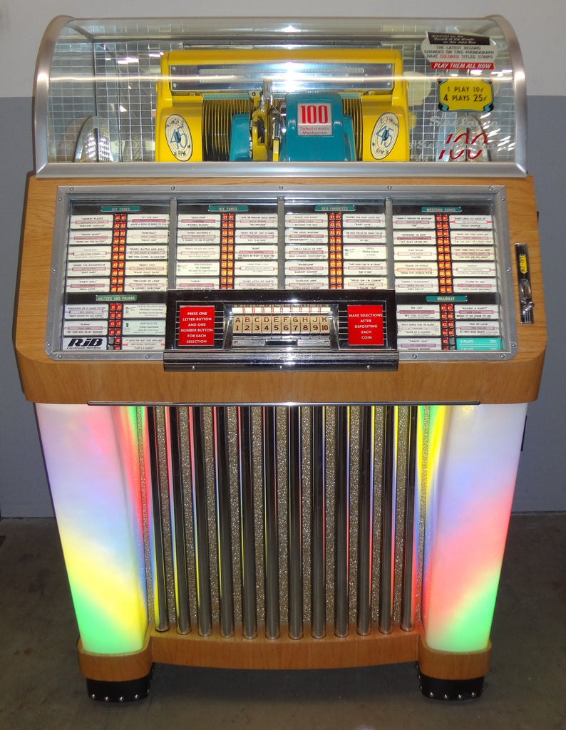1952 Seeburg Model 100 C Jukebox 45s Coin Operated