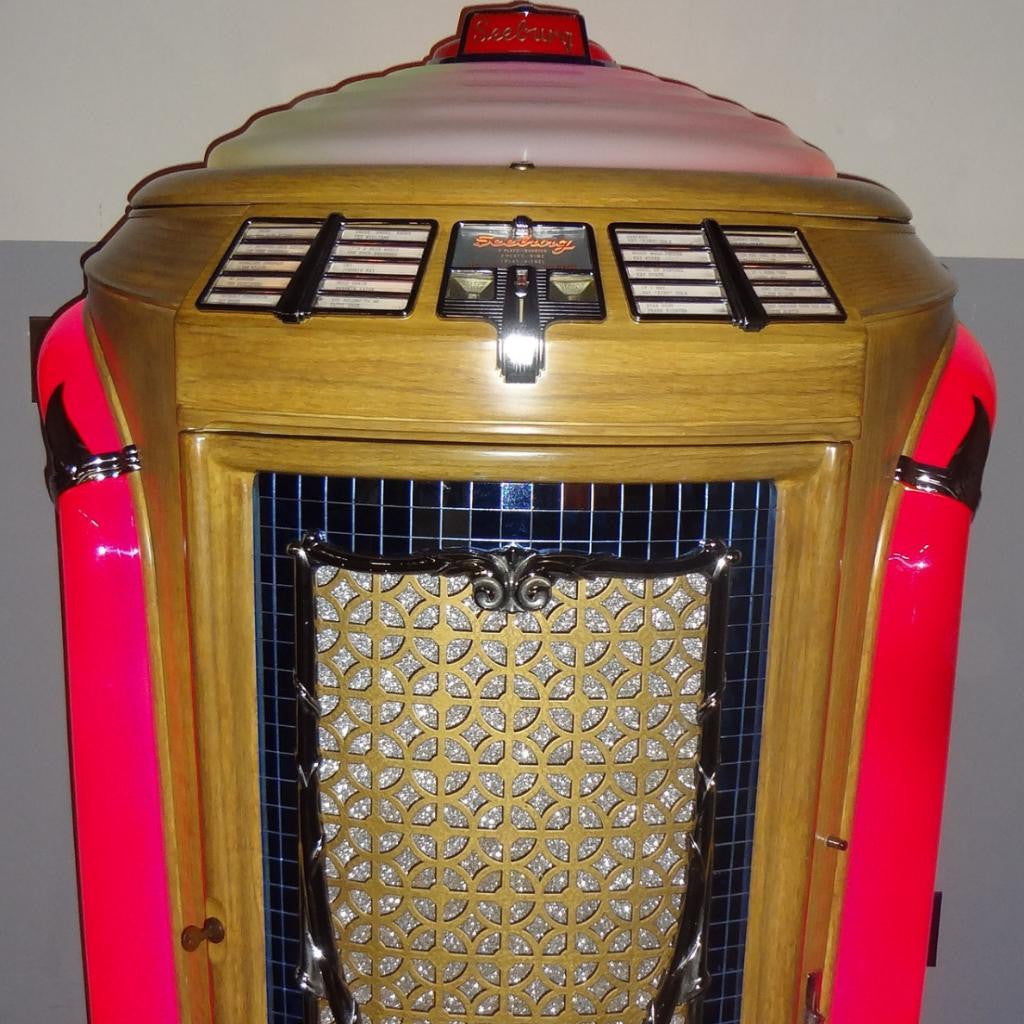 1940s JUKEBOX (78s) - SEEBURG Trash Can Model P148 - Coin Operated