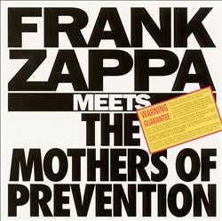 FRANK ZAPPA MEETS THE MOTHERS OF PREVENTION: Barking Pumpkins