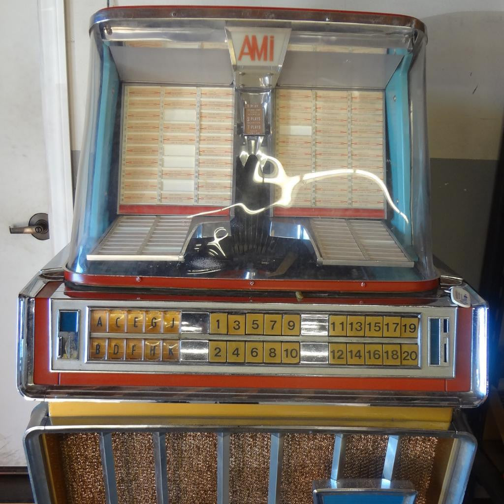 AMI J 200 E JUKEBOX (45s). 1959 ORIGINAL! (For Parts / Restoration)