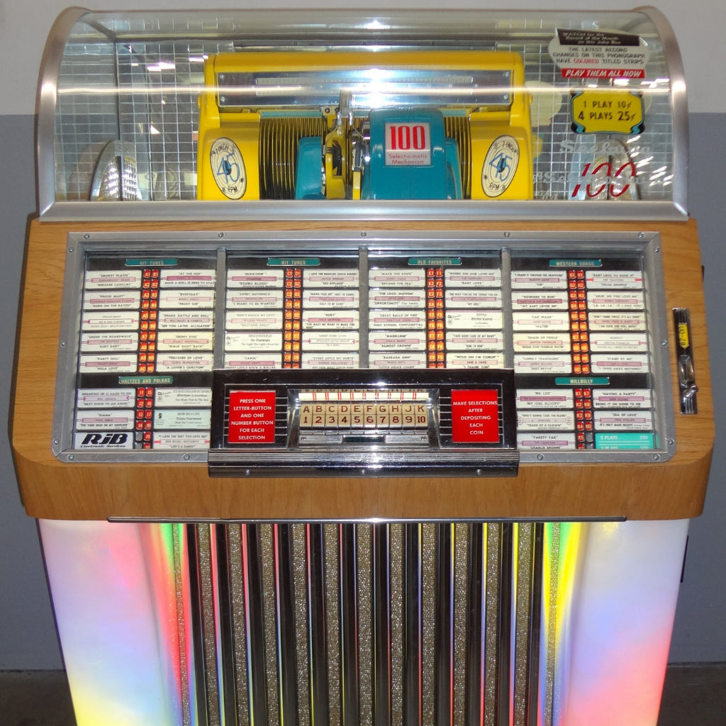 1952 SEEBURG MODEL 100 C JUKEBOX (45s) Coin Operated