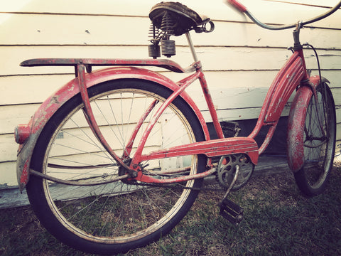 "1950s Cleveland Welding Company Balloon Tire / Tank Bike - ""Road Master"""